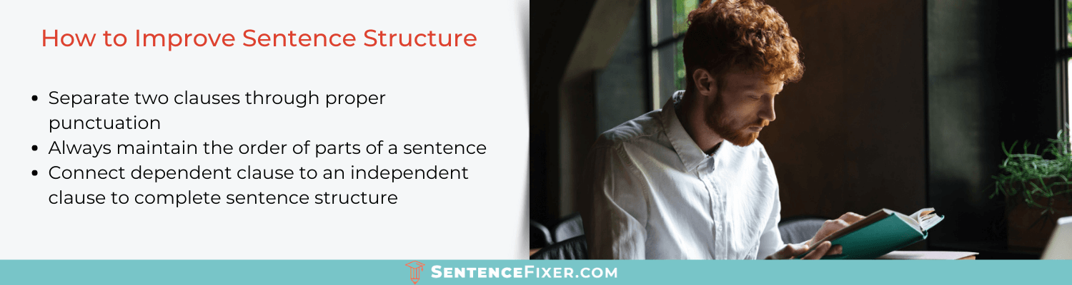 how to improve sentence structure